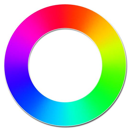 Komplementärfarbe Zu Grün der rgb farbkreis