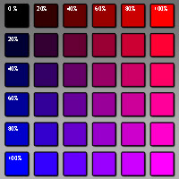 Altrosa Mischen die farbe rosa